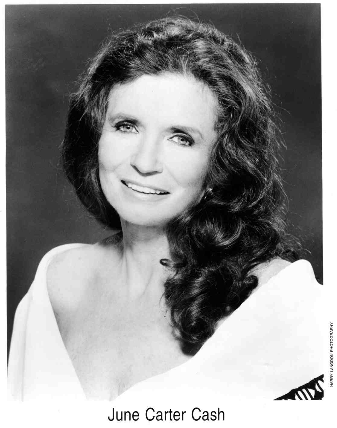 June Carter Cash Publicity Photo